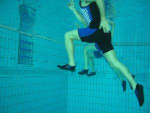 Spezifisches Krafttraining im schwimmtiefen Wasser
