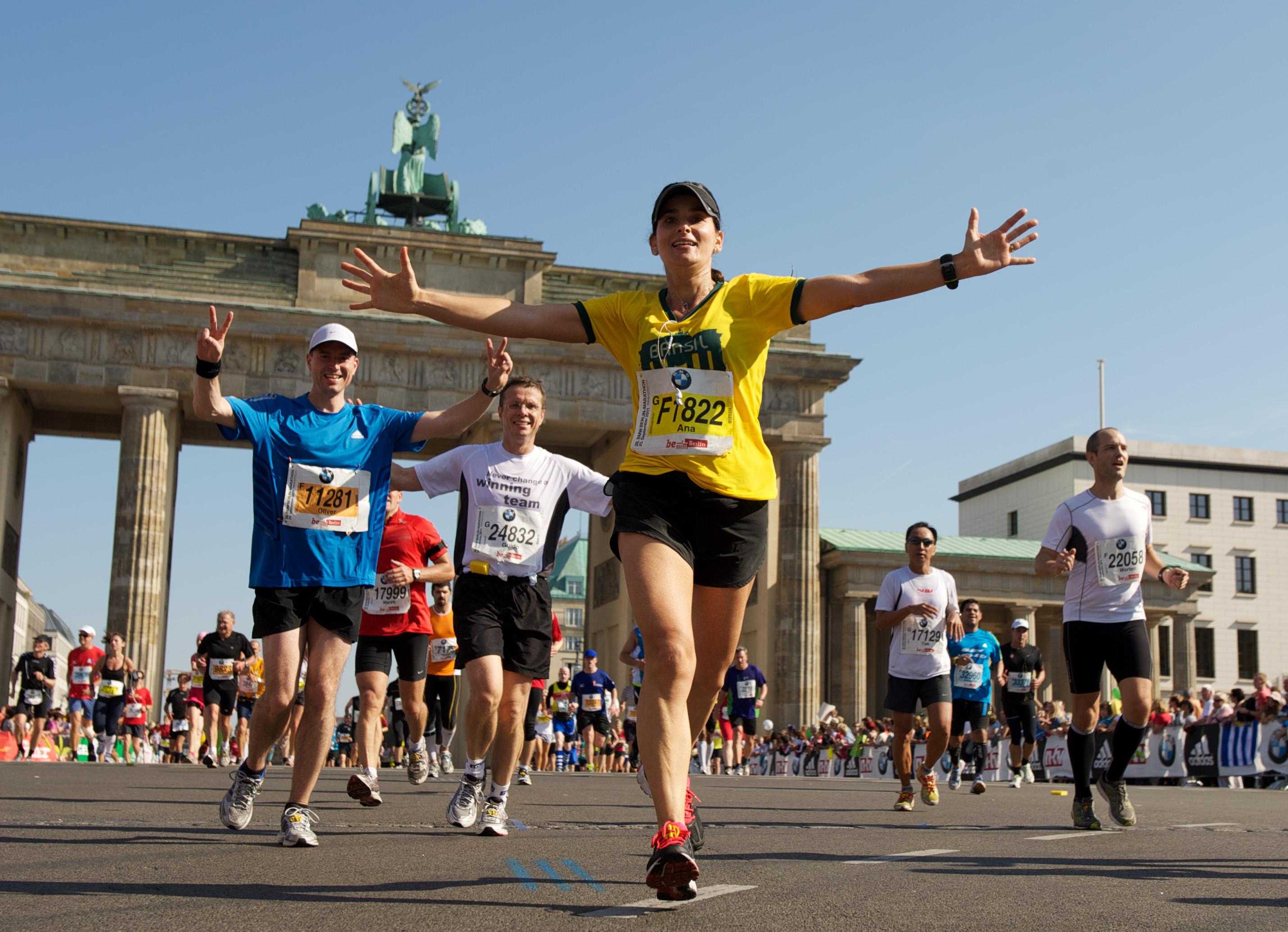 Marathon laufen heisst auch Emotionen erleben