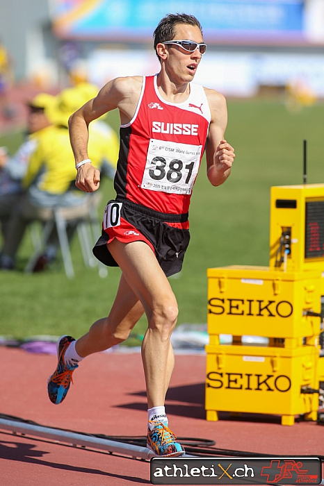 Andreas Kempf bei den Military World Games