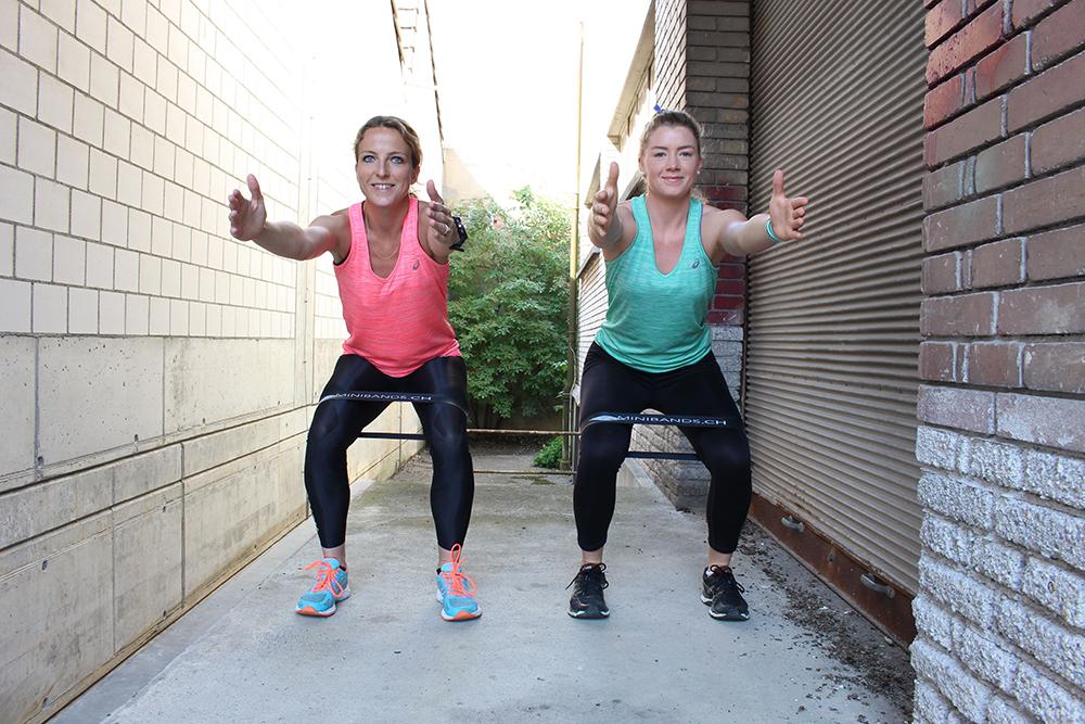 sind squats gut für die bauchmuskeln
