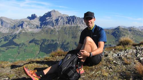 Trailrunner Sascha Gwerder