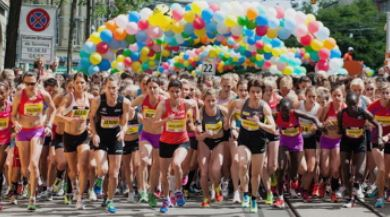 Start zum Frauenlauf 2012