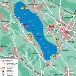 Streckenplan des Greifenseelaufs