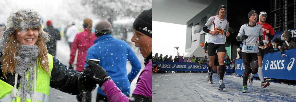 Schwierige Bedingungen für alle Beteiligten am Lucerne Marathon