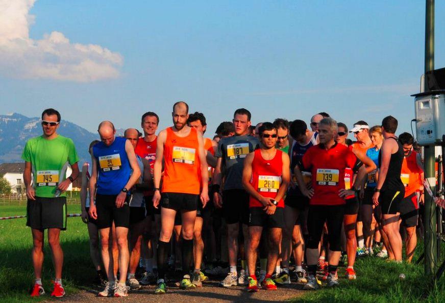 Mittwoch für Mittwoch besammelte sich das Läuferfeld