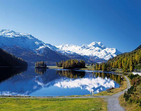 Das Engadin - Schweizerisches Laufparadies