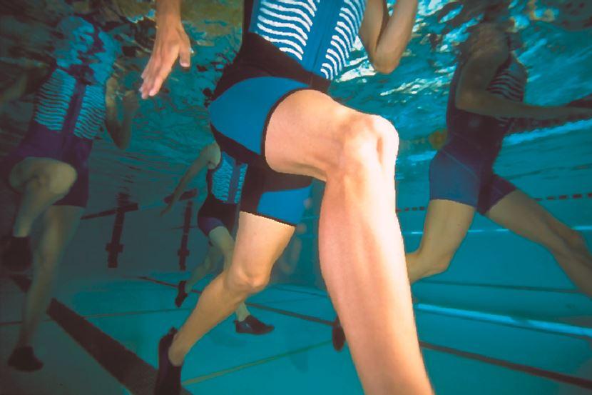 Das Laufen im Wasser bringt viele Vorteile mit sich