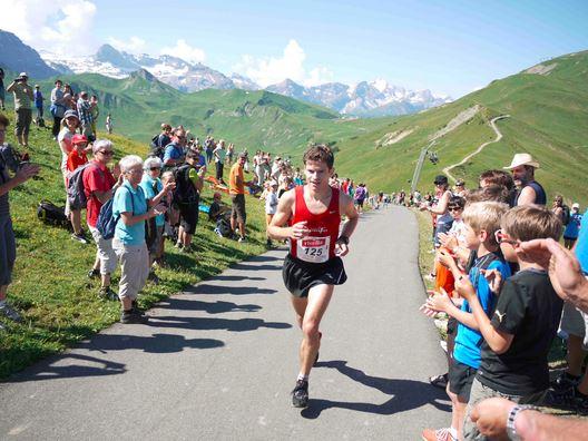 Christian Mathys hat auch Stärken am Berg und war bereits Berglauf Schweizermeister