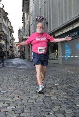 Das Laufen gibt mir Lebensinhalt