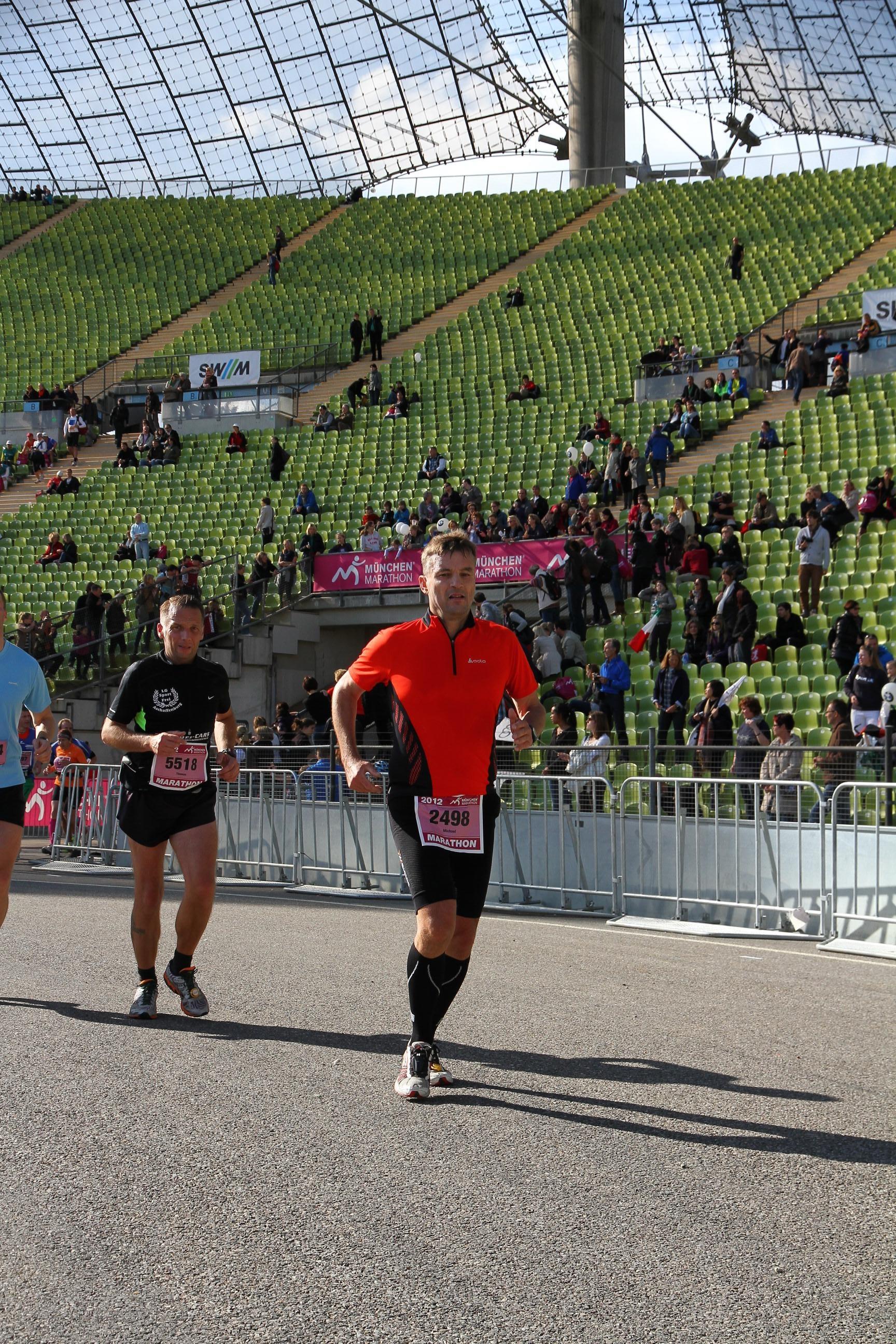 Michael Romberg am München Halbmarathon