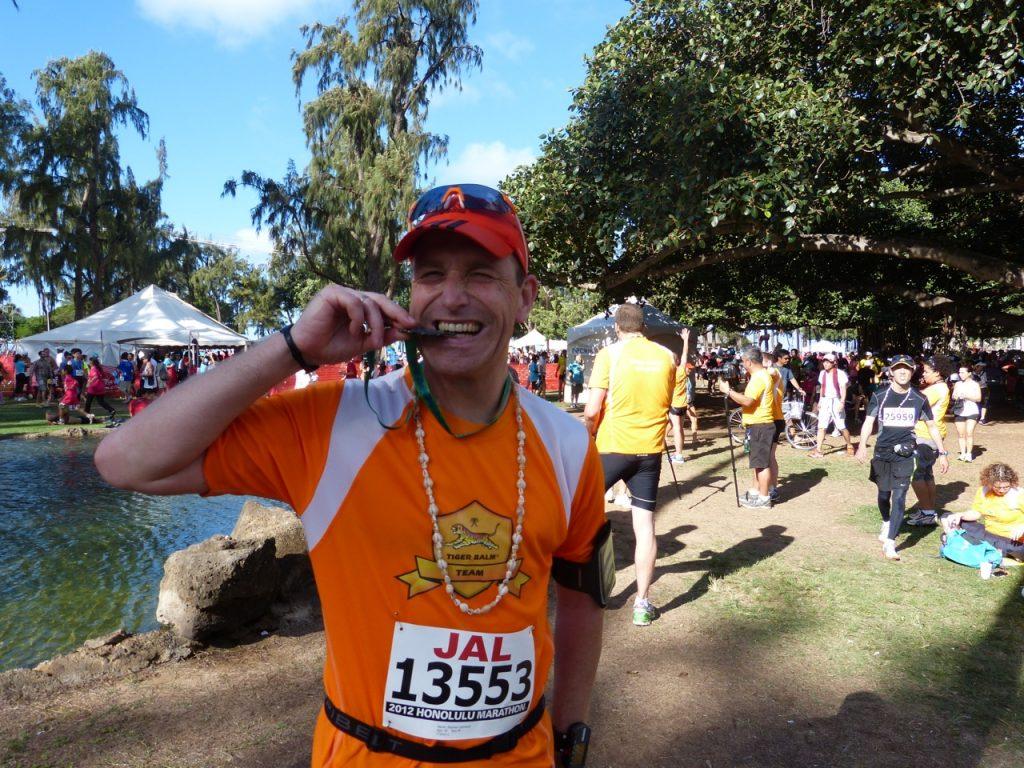 Stephan's Ziel ist der Hamburg Marathon