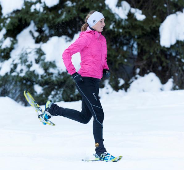 Schneeschuhwandern oder -laufen sind ein grossartiges Erlebnis
