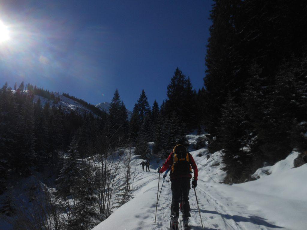 Michael Romberg unterwegs auf einer Skitour
