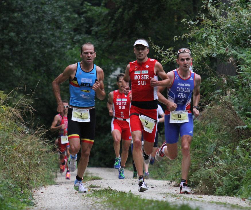 André Moser auf dem Weg zu seinem grössten Erfolg