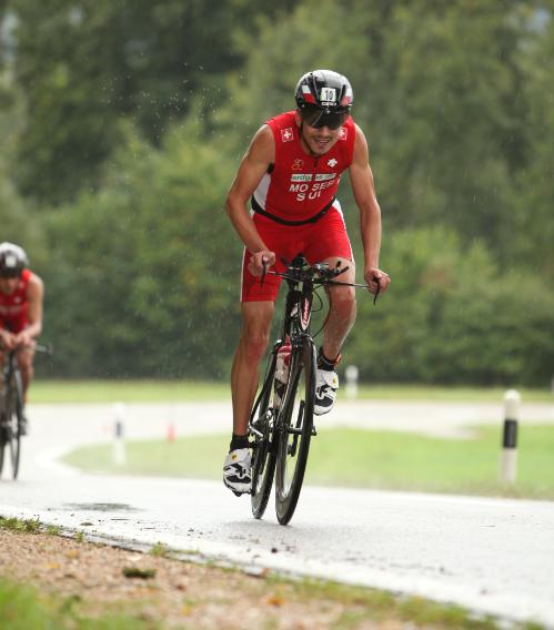 Die Laufleistung von André Moser verbessert sich durch Radtraining