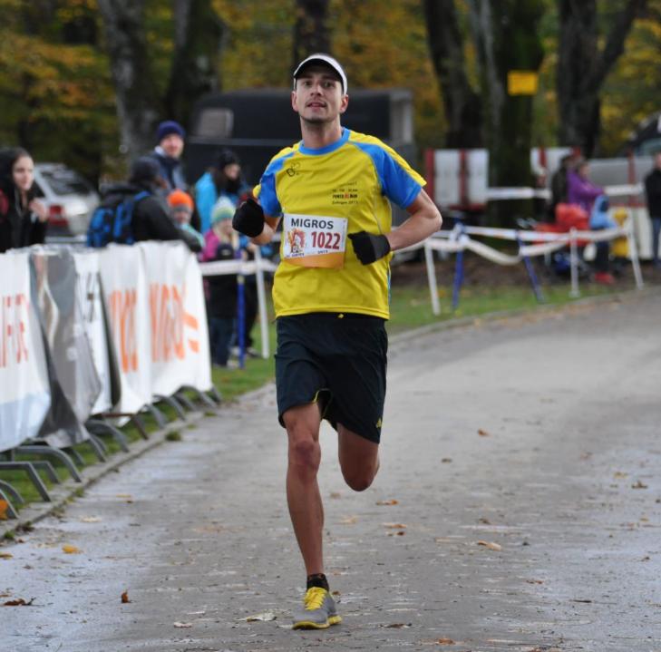 In Laufwettkämpfen holt sich André Moser die Form für seine Duathlons