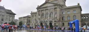 Der GP Bern führt direkt über den Bundesplatz