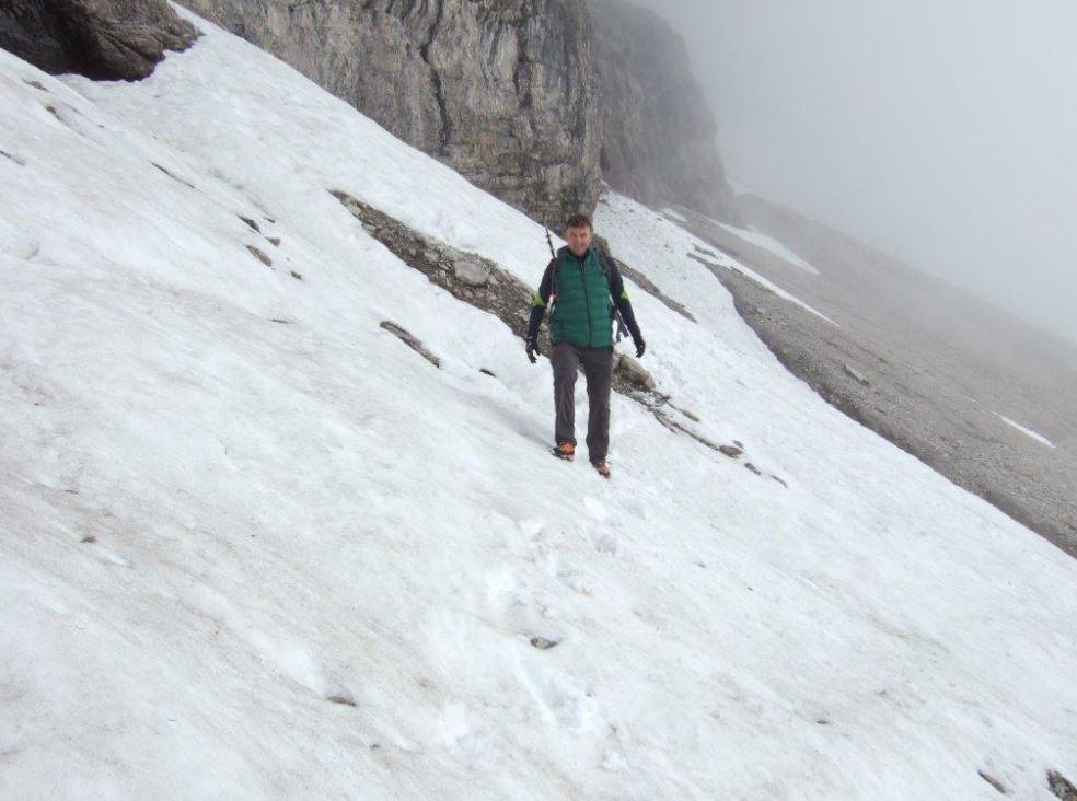 Bergsteigen - Michaels zweite Passion