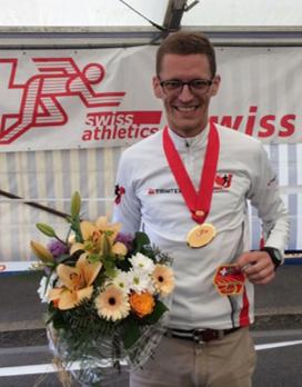 Schweizermeister Bernhard Eggenschwiler