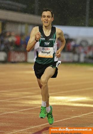 Andreas Kempf läuft dank Techniktraining perfekt