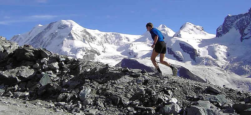 Warum nicht einmal am Berg laufen? Das bringt Abwechslung in den Trainingsalltag