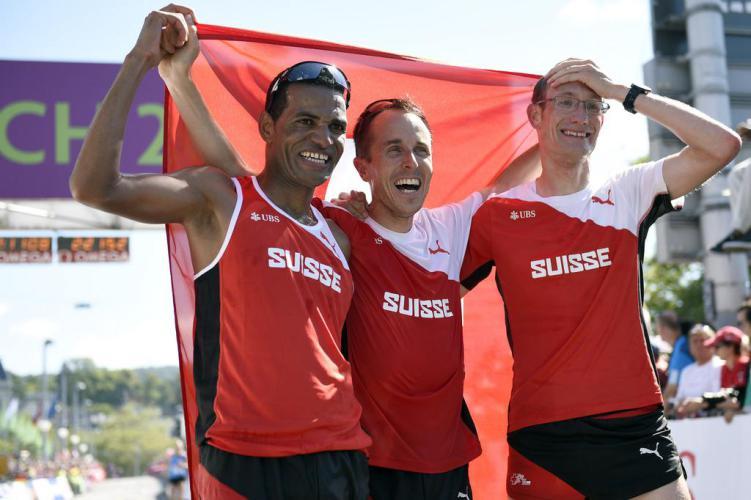 Zusammen mit Viktor Röthlin und Tadesse Abraham war Kreienbühl 2014 für Team-Bronze an der Heim-EM besorgt.