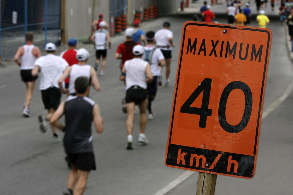 Marathonlauf-Tst