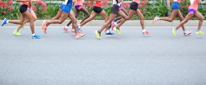 Schrittlänge für Läufer