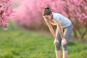 Pollen und Laufen
