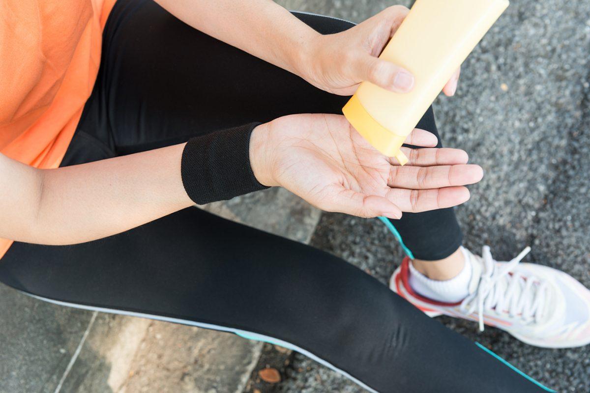 Sonnenschutz und Laufsport