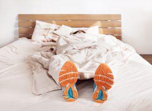 Schlafen und Laufen
